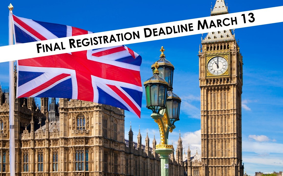London Registration Deadline