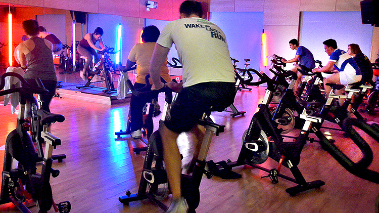 Fit in 45: Indoor Cycling