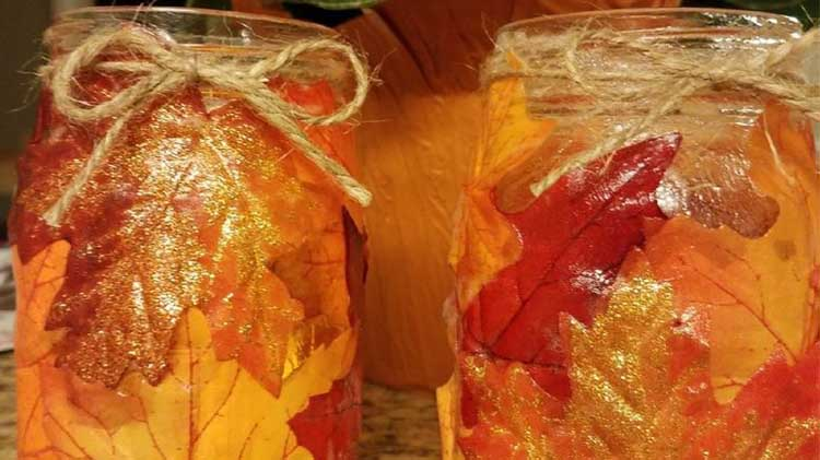Create an Autumn Votive