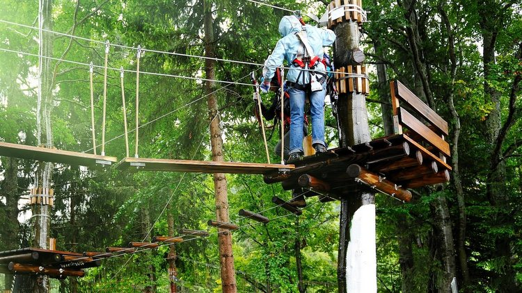 Couples Ropes Course