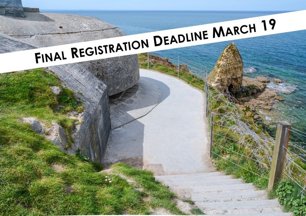 Normandy Registration Deadline