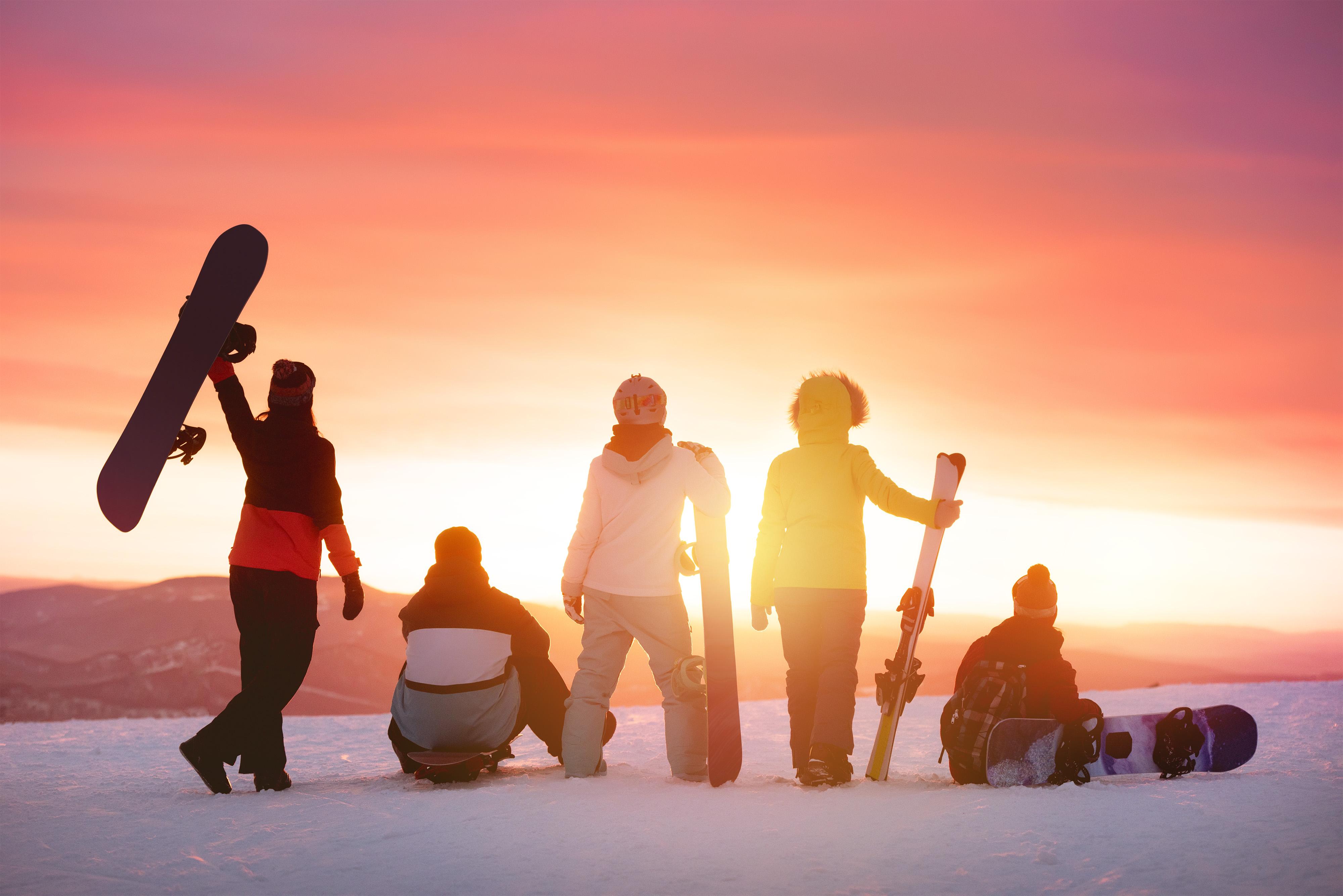 Laax, Switzerland Ski Trip