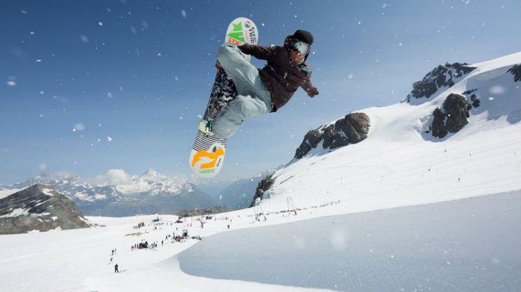 Hintertux Glacier Snowboard Park