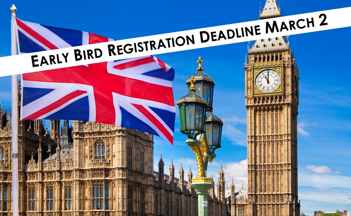 London Early Bird Registration Deadline
