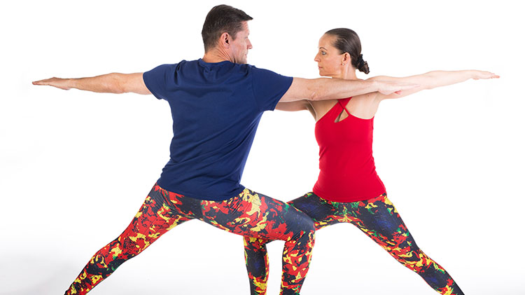 Valentine's Day Partner Yoga