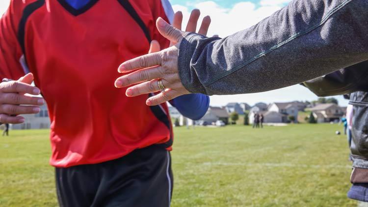 Flag Footbal - Coaches Meeting