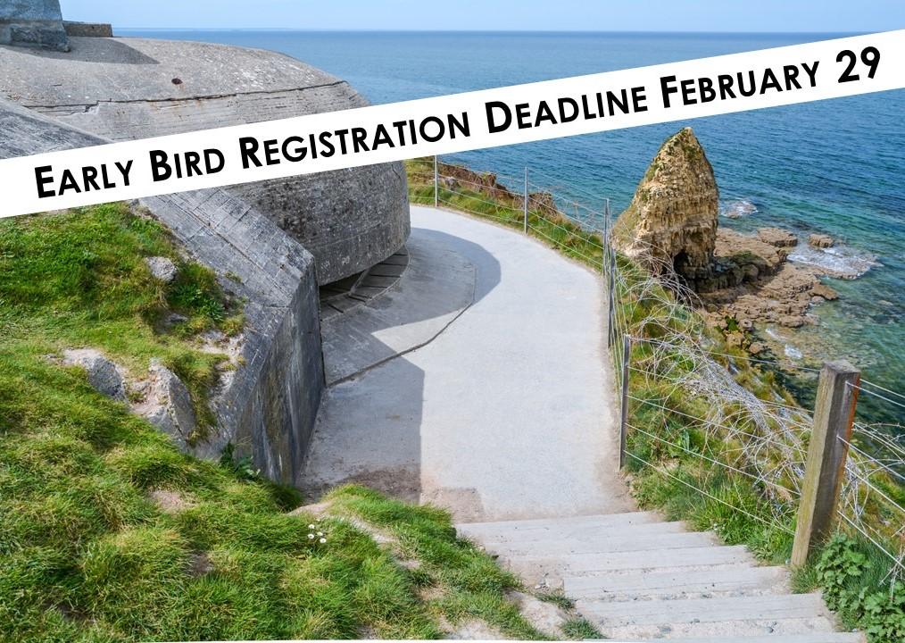 Normandy Early Bird Registration Deadline