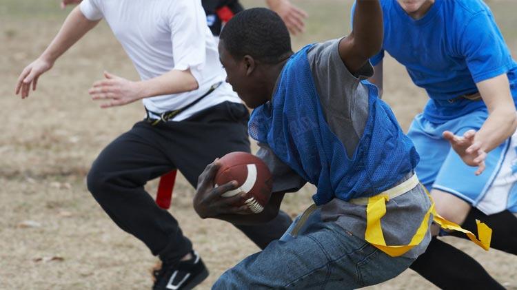 Flag Football Intramural League Games