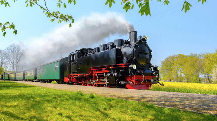 Steam Train through the Black Forest