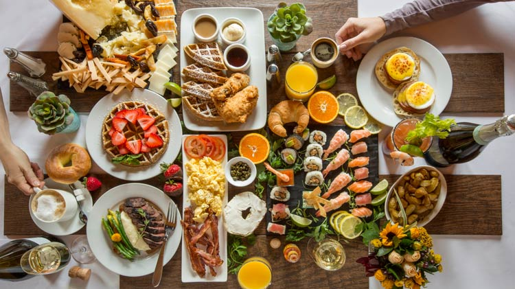 Win a Sunday Brunch - Complete our survey